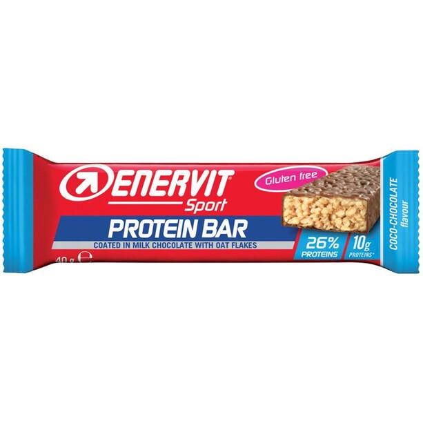 Enervit Sport Protein 26% Bar Box 25x40g Kokos Schoko