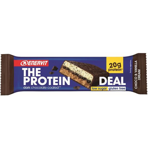 Enervit Protein Deal Bar Box 25x55g Schoko Vanille