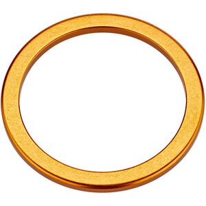 """KCNC Headset Spacer 1 1/8"""" 2mm gold gold"""