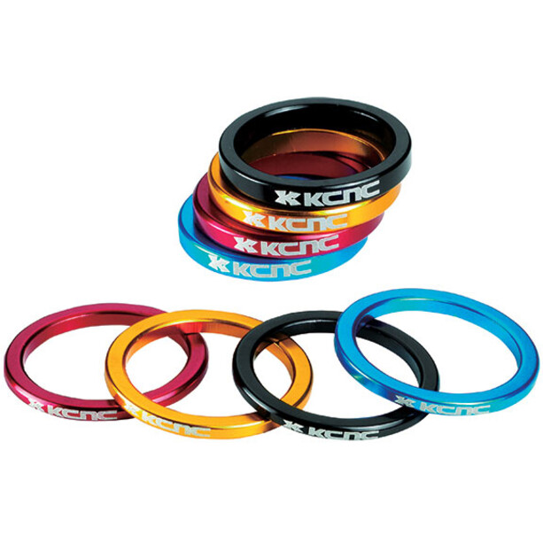 """KCNC Headset Spacer 1 1/8"""" 3/5/10/14/20mm gold"""