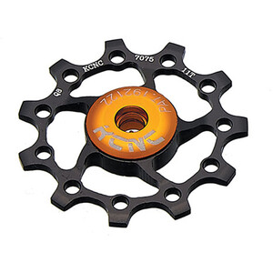 KCNC Jockey Wheel 15 Zähne ceramic bearing black black