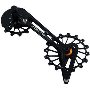 KCNC Jockey Wheel System für Shimano 10/11-fach 14/16 Zähne ceramic bearing black black