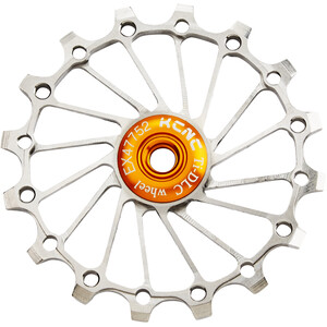 KCNC Jockey Wheel Titan 16T Narrow Wide Vollkeramisches Lager silver silver