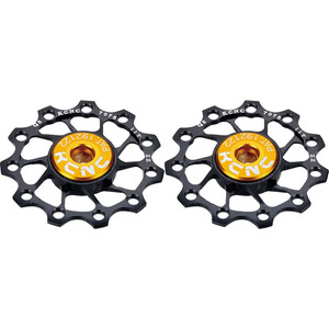 KCNC Ultra Jockey Wheel 12T SS Bearing 1 Pair black black