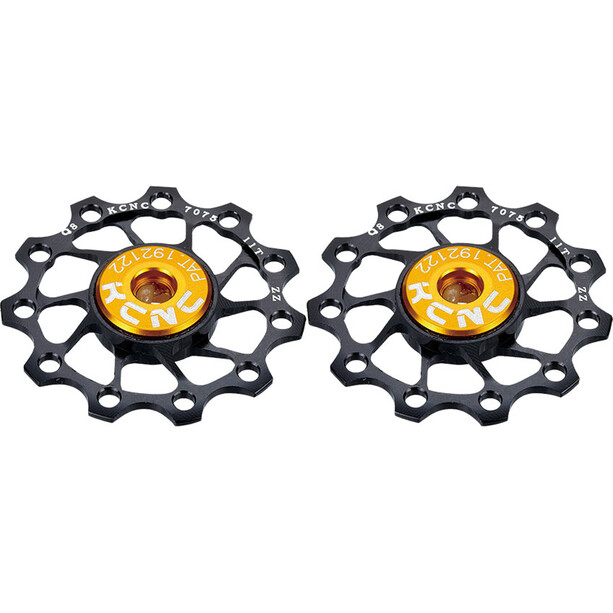 KCNC Ultra Jockey Wheel 12T SS Bearing 1 Pair black