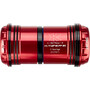 KCNC PF30 Road/MTB Press Fit Adapter red