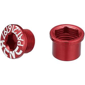 KCNC Road SPB003 Kettenblattschrauben Set Shimano M8 kurz red red