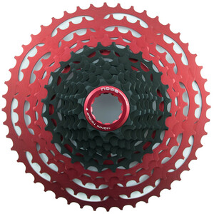 NOW8 Facile Kassette 12-speed for Shimano black/red black/red