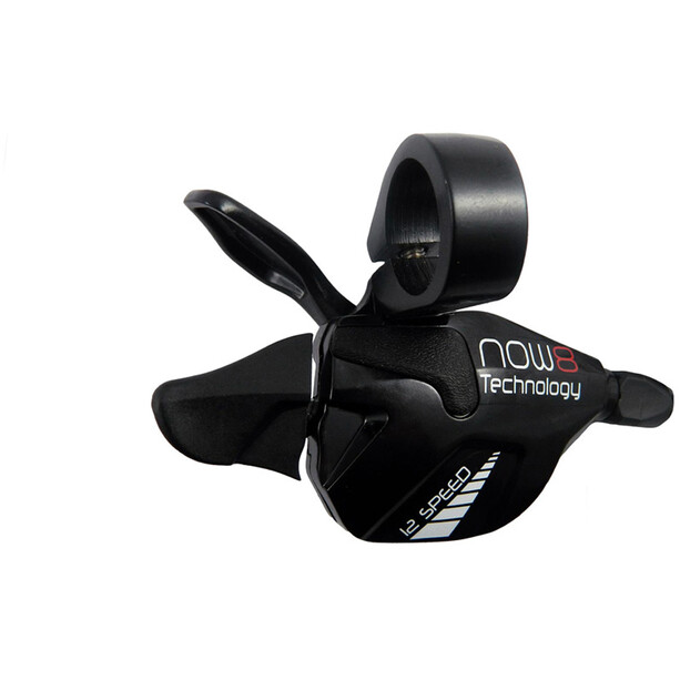 NOW8 Shifter for Facile/Mezo Cassette 12-speed 11-48T black