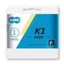 KMC K1 Chaîne de vélo 1 vitesse, silver/black