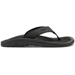 OluKai Ohana Chaussures Homme, noir noir