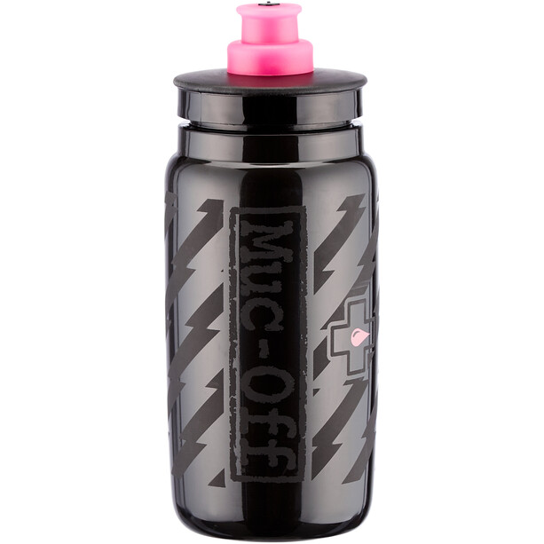 Muc-Off Elite Custom Fly Vandflaske 0,5l, sort