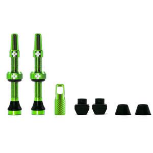 Muc-Off MTB & Road Tubeless Ventil Set 44mm green green