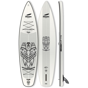 Indiana SUP 11'6 Touring Inflatable Sup white/grey white/grey