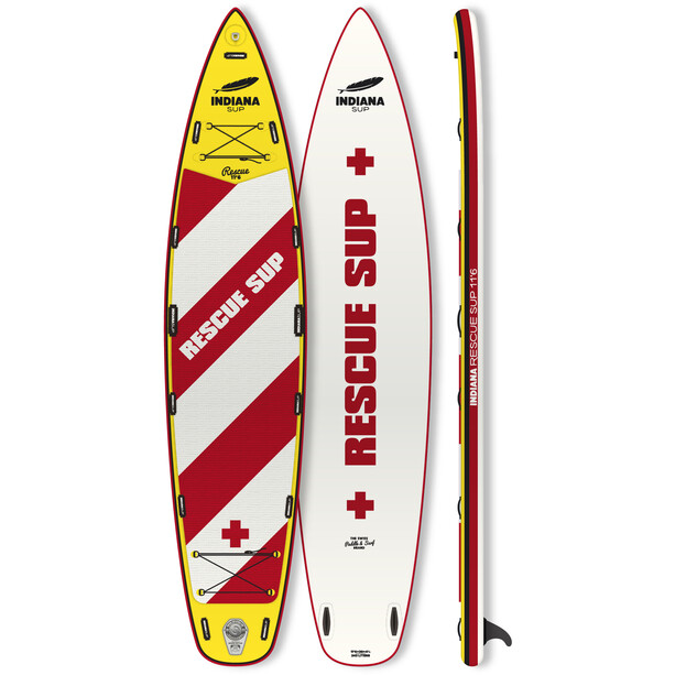 Indiana SUP 11'6 Rescue Inflatable Sup white/red