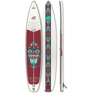 Indiana SUP 16'0 Touring LTD Tandem Inflatable Sup white/red white/red