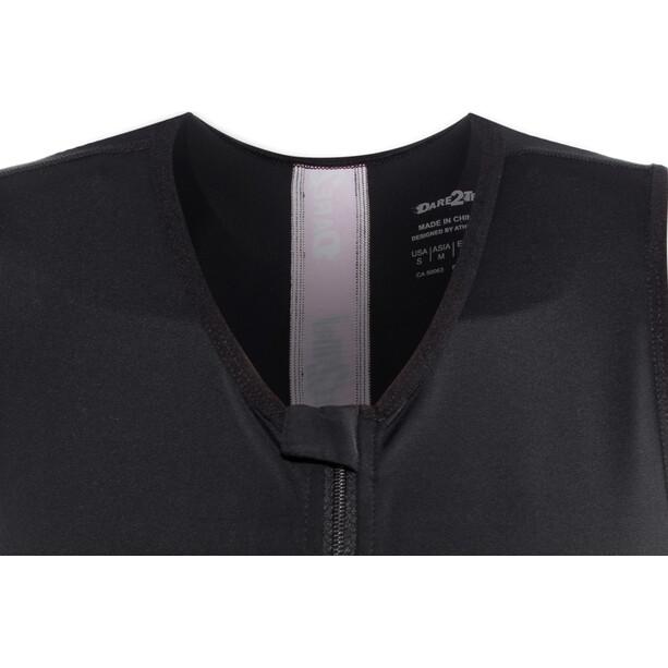 Dare2Tri Coldmax Ärmelloser Trisuit Damen schwarz/pink