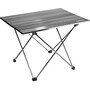 CAMPZ Rolling Table 56x40x40cm Ultra Light silver