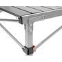 CAMPZ Aluminium Rolling Table 107x70x70cm grey/black