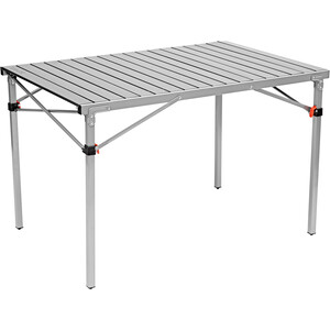 CAMPZ Aluminium Rolling Table 107x70x70cm grey/black grey/black