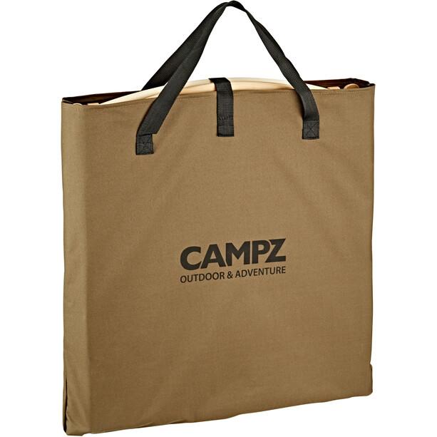 CAMPZ Comfort Beech Wood Folding Chair brown