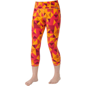 Mountain Equipment Cala Crop Leggings Damen orange sherbert orange sherbert