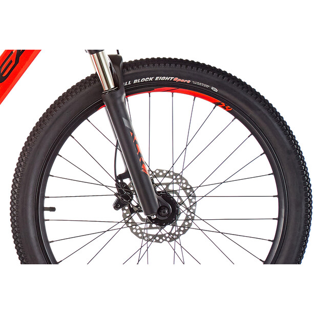 "ORBEA eMX 24"" Kinder red/black"