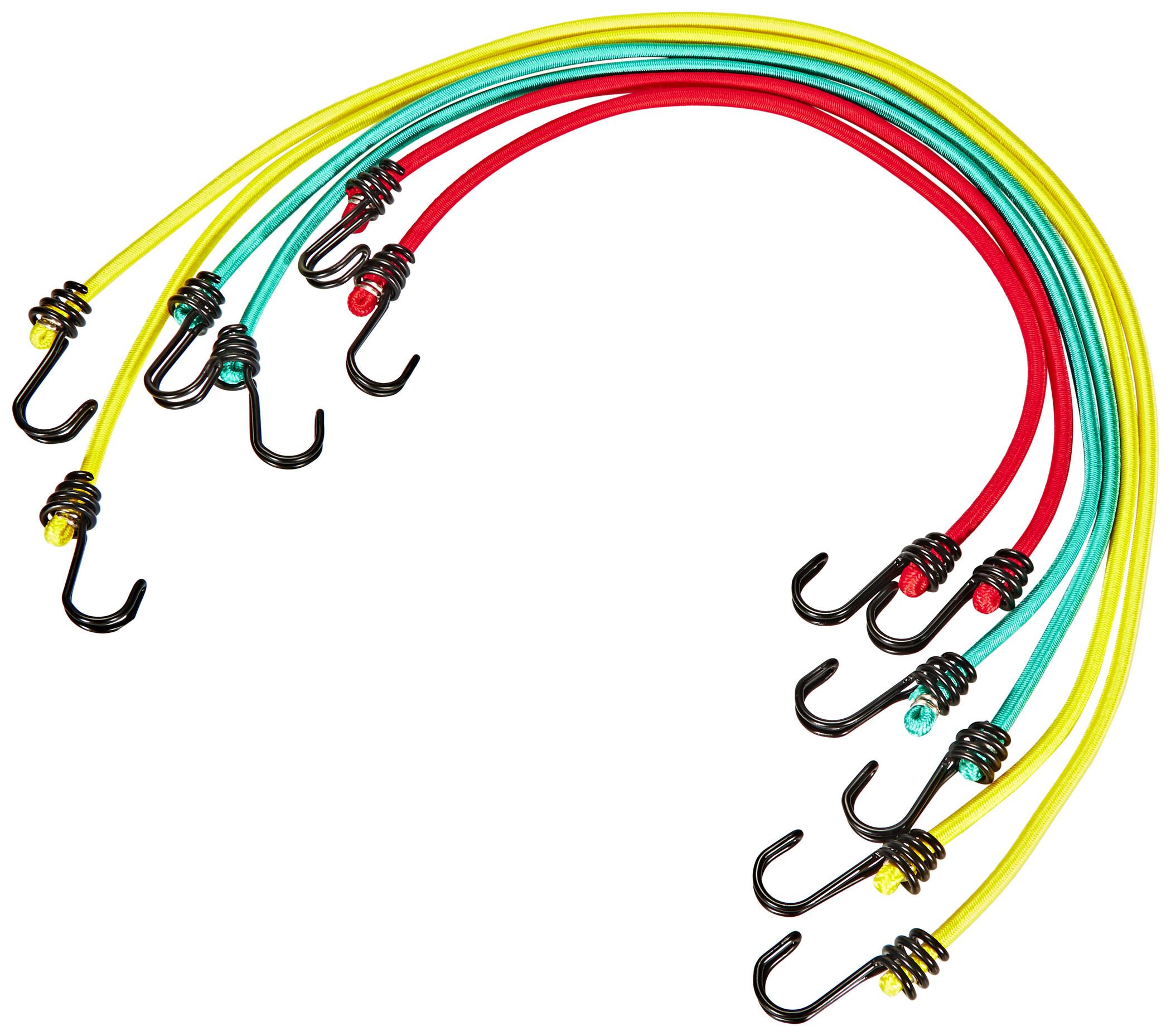 Gummispannseil Gummispanner Planenspanner Spanngummi mit PVC Haken 0,4x40cm BCH3-0440GY-E Bradas 5563