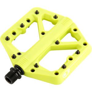 Crankbrothers Stamp 1 Polkimet Splash Edition, keltainen keltainen