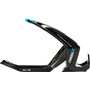 Elite Cannibal XC Bottle Holder shiny black/blue graphic