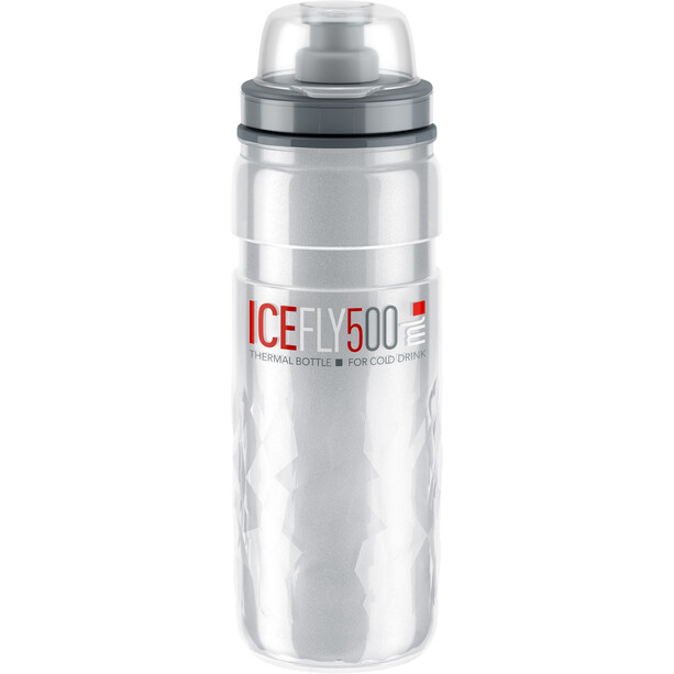Elite Ice Fly Trinkflasche 500ml clear