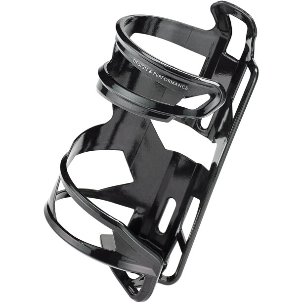 Elite Prism Porte-bidon carbone droite, noir