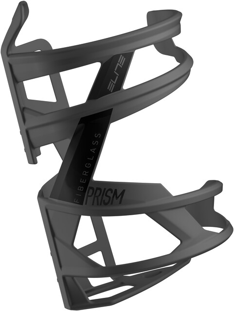 Elite Cannibal XC Water Bottle Cage Gloss Black//White Graphic