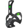 Elite Rocko Bottle Holder Carbon black matte/green design