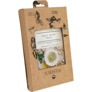 Forestia Heater Outdoor Mahlzeit Vegetarisch 350g Nudeln mit Basilikumpesto