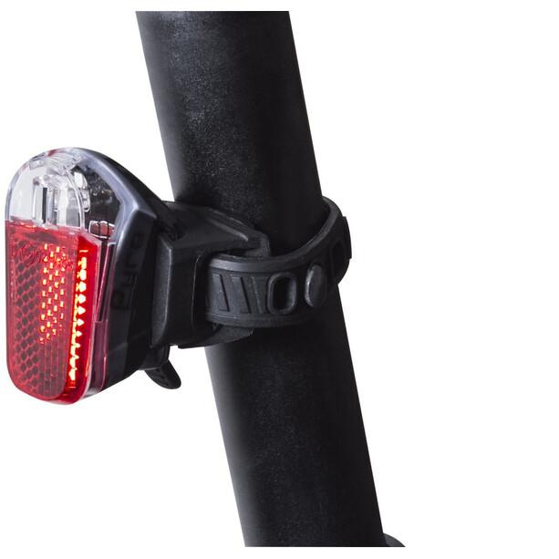 spanninga Pyro Rechargeable Rear Light black