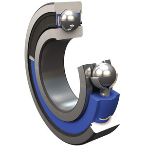 SKF MTRX Solid Oil Rodamiento rígido de bolas 17x26x5mm ISO 61803, Plateado Plateado