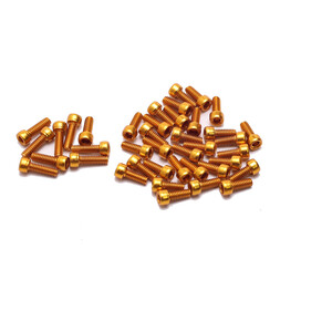 "HT AAP Pin Kit 1/8""x8mm for ME03/AE03 gold gold"