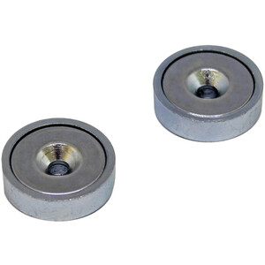 magped M150 Neodym Magnet silber silber