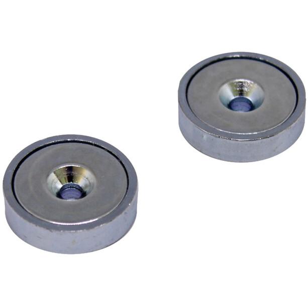 magped M200 Neodym Magnet silber