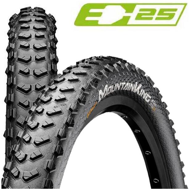 "Continental Mountain King Performance Clincher Tyre 29x2.3"" E-25, noir"