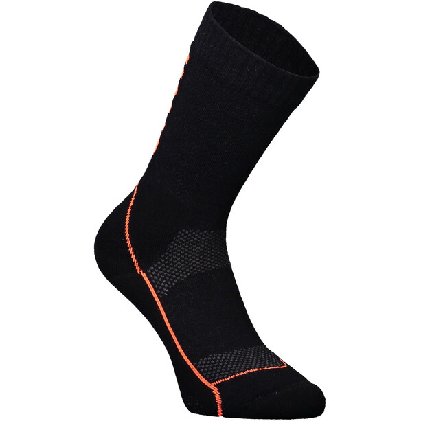 "Mons Royale MTB 9"" Tech Socks Dam Black/Neon"