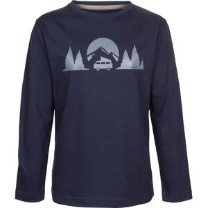 Elkline Longwayhome Langarm-Shirt Kinder blueshadow/vw blueshadow/vw