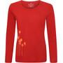 Elkline Posy Langarm-Shirt Damen chilipepperred