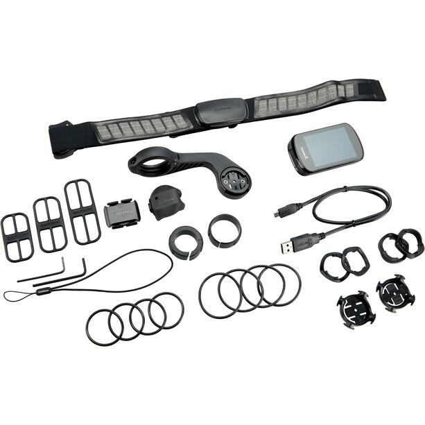 Garmin Edge 830 Compteur de vélo Kit Performance, noir