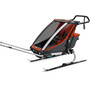 Thule Chariot Cross 1 Bike Trailer roarange/dark shadow