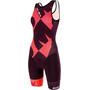 Santini Cupio Hihaton Triathlon-puku Naiset, punainen