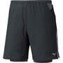 Mizuno Er 7.5 2In1 Shorts Herren black