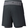 Mizuno Er 7.5 2In1 Shorts Men black
