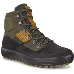 ECCO Soft 7 Tred Stiefel Sneaker Herren black/deep forest/amber black/deep forest/amber